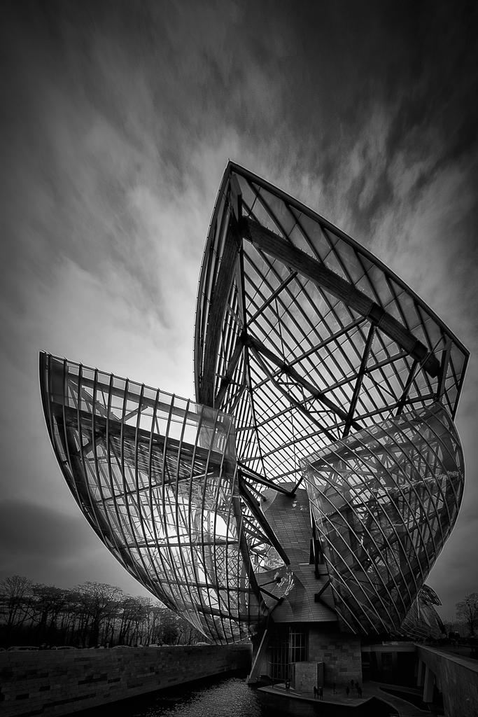 Architecture Noir et blanc ,couleurs